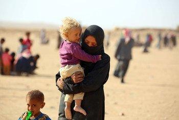 Réfugiés dans le camp d'Al-Hol, dans le nord-est du gouvernorat de Hasakeh, en Syrie. (archive)