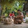 联合国驻缅甸国家工作队今天表示,缅甸的女性是促进该国实现和平、民主和繁荣的中坚力量。(资料图片)