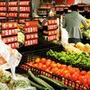 Residents shopping in a local supermarket in Wuhan, China, on Apr 8, when the city was reopened after a 76-day lockdown.
