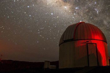 """The study of astronomy can """"shed light"""" light on the challenges the planet faces from climate change."""