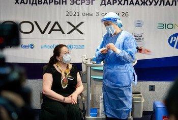 Vacinas da Covax já chegaram a mais de 100 países, incluindo Mongólia