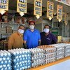 The Lo Valledor main wholesale market, in Chile, pictured during the COVID-19 pandemic.