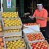 Mercado de Lo Valledor, no Chile, um dos setores afetados pela pandemia