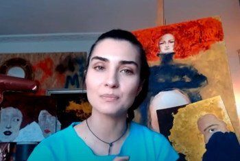 Туба Бююкюстюн, популярная турецкая актриса и посол доброй воли ЮНИСЕФ, приняла участие в онлайн мероприятии