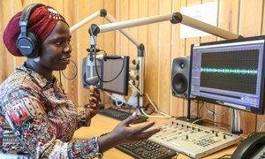 Mtangazaji wa Radio Miraya, Irene Lasu, ambaye yuko katika kitengo cha kulinda amani ya UN huko Sudan Kusini (UNMISS)