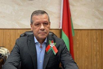 Постоянный представитель Беларуси при ООН Валенин Рыбаков