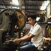 Trabalhador de Mianmar em Banquecoque, na Tailândia