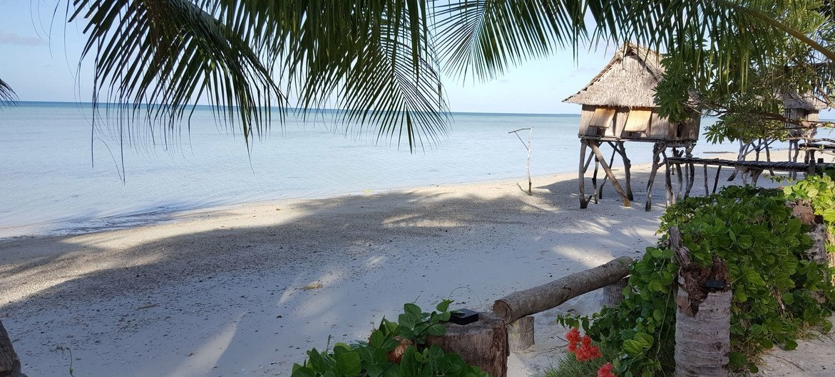Kiribati is located in the central Pacific Ocean