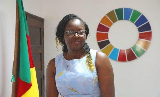 Cecile Mawe, founder and President of Jeunes en Action pour le Développement Durable (JADD), Cameroon.