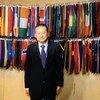 秘书长非洲大湖区问题特使夏煌接受联合国新闻专访。