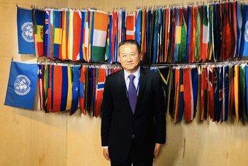 L'Envoyé spécial des Nations Unies pour la région des Grands Lacs, Huang Xia.