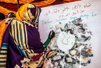 妇女在苏丹的政治过渡进程中发挥了突出作用,导致妇女担任关键的政府领导职位,包括该国有史以来第一位女外交部长和首席大法官。