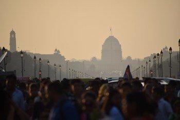 Photo of New Delhi, India.