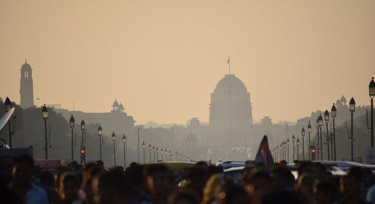 La ciudad de Nueva Delhi, en la India, es una de las más contaminadas por las emisiones.