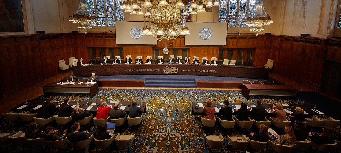 The International Court of Justice (ICJ) delivers its judgment on the preliminary objections raised by the Russian Federation in the case concerning two international treaties on terrorism financing and racial discrimination (Ukraine v. Russian Federation).