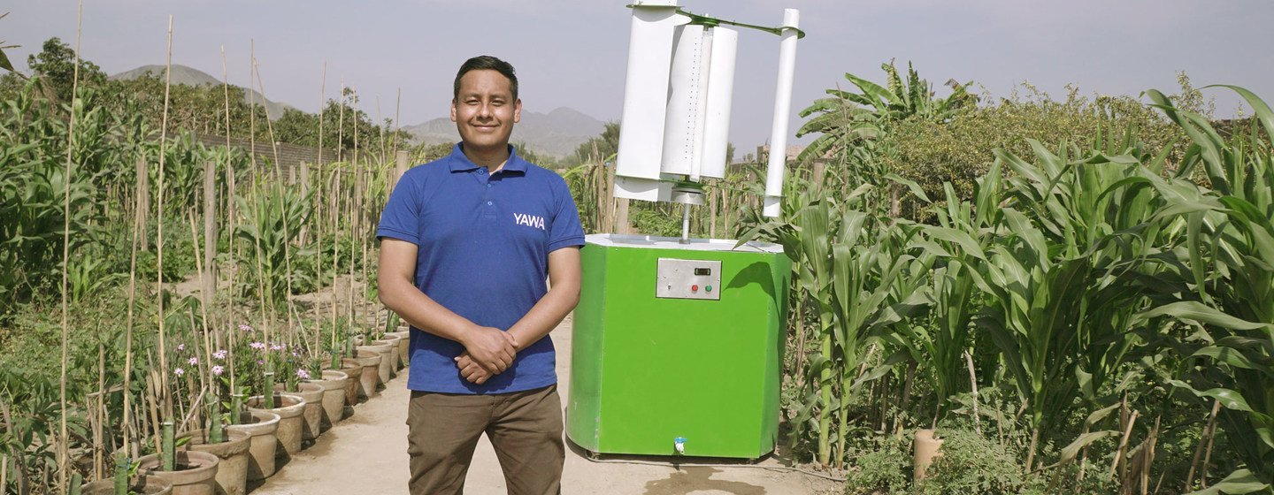 Young Champions of the Earth: Peru's elemental innovator