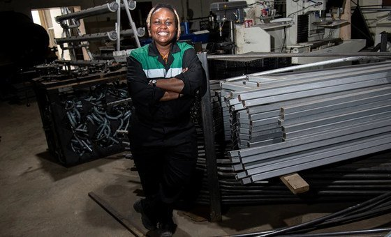 Nzambi Matee who runs Gjenge Makers in Kenya has been named as a UNEP Young Champion of the Earth for 2020.