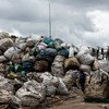 Low-cost construction materials made of recycled plastic waste and sand is being sustainably manufactured in Kenya by Gjenge Makers.
