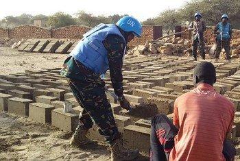 Walinda amani kutoka Tanzania kwenye UNAMID huko Darfur.