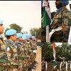 दक्षिण सूडान में भारतीय शान्तिरक्षकों को संयुक्त राष्ट्र मिशन में सेवा के लिये पदक से सम्मानित किया गया.