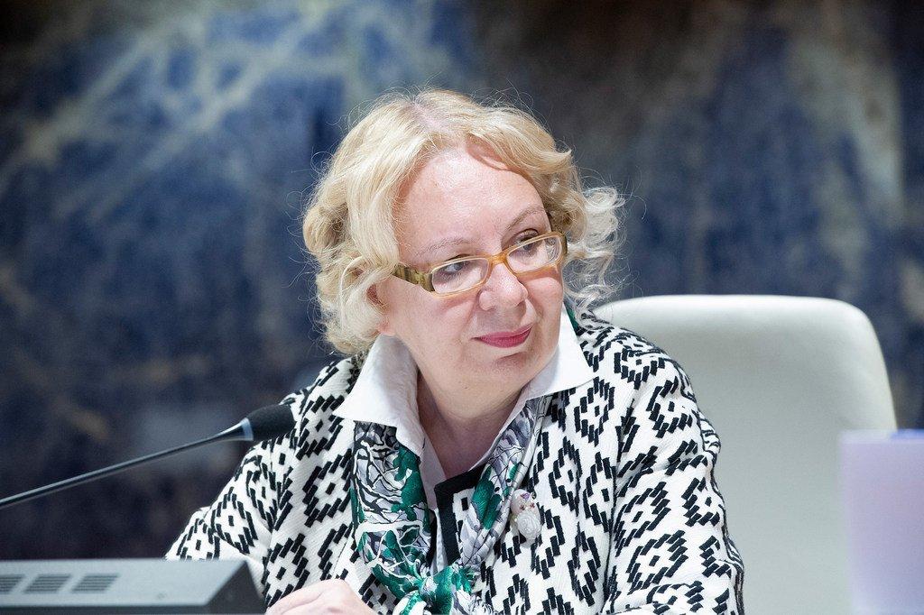 Photo ONU: Tatiana Valovaya, La Directrice générale de l'Office des Nations Unies à Genève
