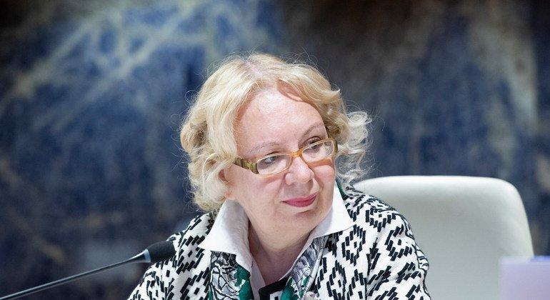 Глава штаб-квартиры ООН в Женеве Татьяна Валовая