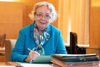 联合国驻日内瓦办事处主任瓦罗瓦娅。