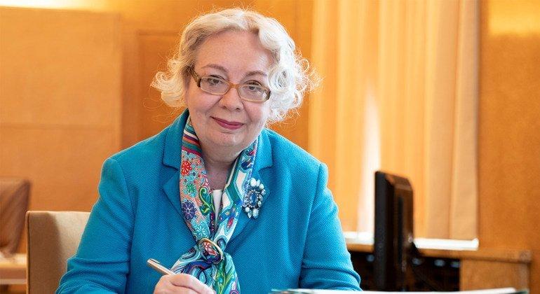 Глава штаб-квартиры ООН в Женеве Татьяна Валовая: женщин-дипломатов за рубежом тогда практически не было