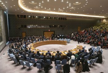 Заседание Совбеза, посвященное вопросам мира, безопасности и приверженности Уставу ООН. Архив