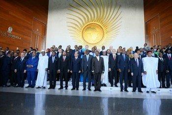 На саммите Африканского союза глава ООН Антониу Гутерриш призвал оказать поддержку Африке в борьбе с бедностью, изменением климата и терроризмом.