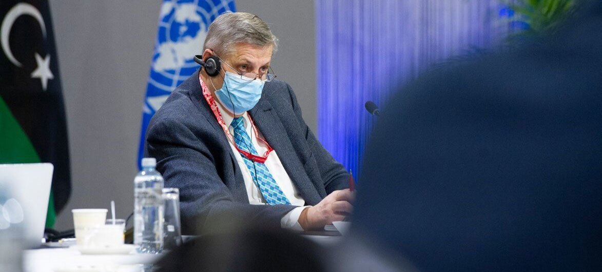 Ján Kubiš, Head of the UN Support Mission in Libya (UNSMIL).