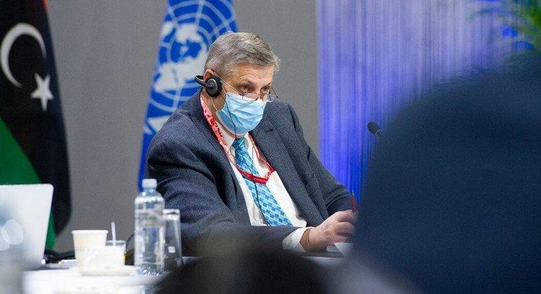 يان كوبيش الممثل الخاص للأمين العام ورئيس بعثة الأمم المتحدة للدعم في ليبيا