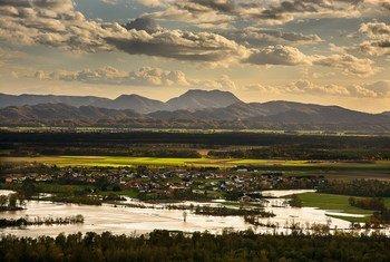 El clima extremo ha causado inundaciones en países como Eslovenia.
