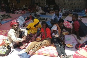 The IPNA immigrant holding facility in Sana'a, Yemen has suffered from overcrowding. (file)