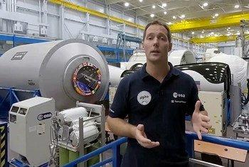 Thomas Pesquet, astronaute de l'Agence spatiale européenne, nommé Ambassadeur de bonne volonté de la FAO