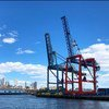 Many container ports, like this one in New York City, have seen a decline in activity as a result of the coronavirus pandemic.