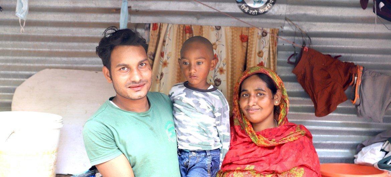 अब्दुल कुद्दुस और उनका परिवार.