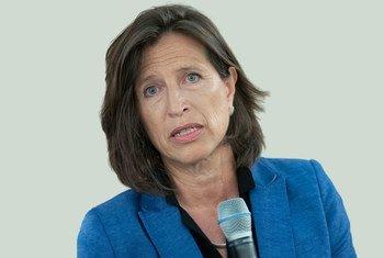 Melissa Fleming, cheffe du Département des Nations Unies à la communication globale.