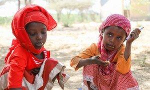 Children in Ethiopia's Oromia Region, where alarming violence has erupted.