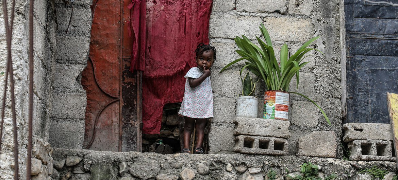 Un tercio de los niños de Haití necesitan ayuda humanitaria urgentemente