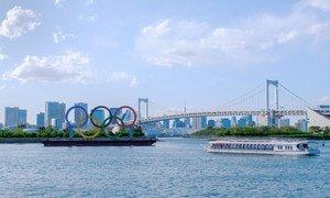 As Olimpíadas de Tóquio começam no dia 23 de julho de 2021, após um ano de atraso devido à pandemia Covid-19