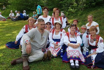 """""""Izhor"""" Indigenous people in Russia keep they language and traditions."""