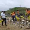 As part of the Climate Change Warriors Project (CCWP), FLC supported communities and schools in semi-urban, rural, and urban areas, organised five clean up campaigns to eliminate illegal rubbish dump sites.