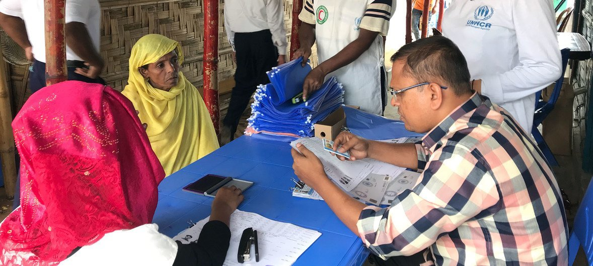 More than half a million Rohingya in Bangladesh get ID cards for