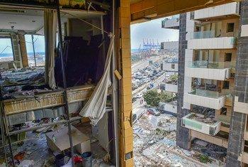 Mlipuko wa Beirut mnamo 4 Agosti 2020 ambao uliwaacha wengi bila makaazi