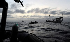 """ONU defende que acontece tumulto """"em níveis alarmantes"""" da segurança marítima global"""