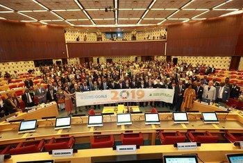 第十四届全球人居环境论坛开幕式全体嘉宾合影