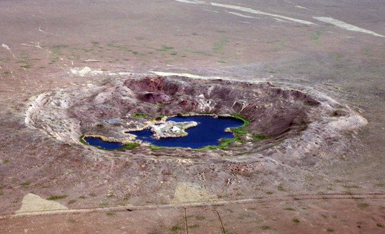 Семипалатинский полигон в Казахстане, где СССР проводил испытания ядерного оружия