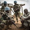 UN peacekeepers in the Mopti region of central Mali during during a  military operation in support of the authorities to protect civilians.(July 2019)