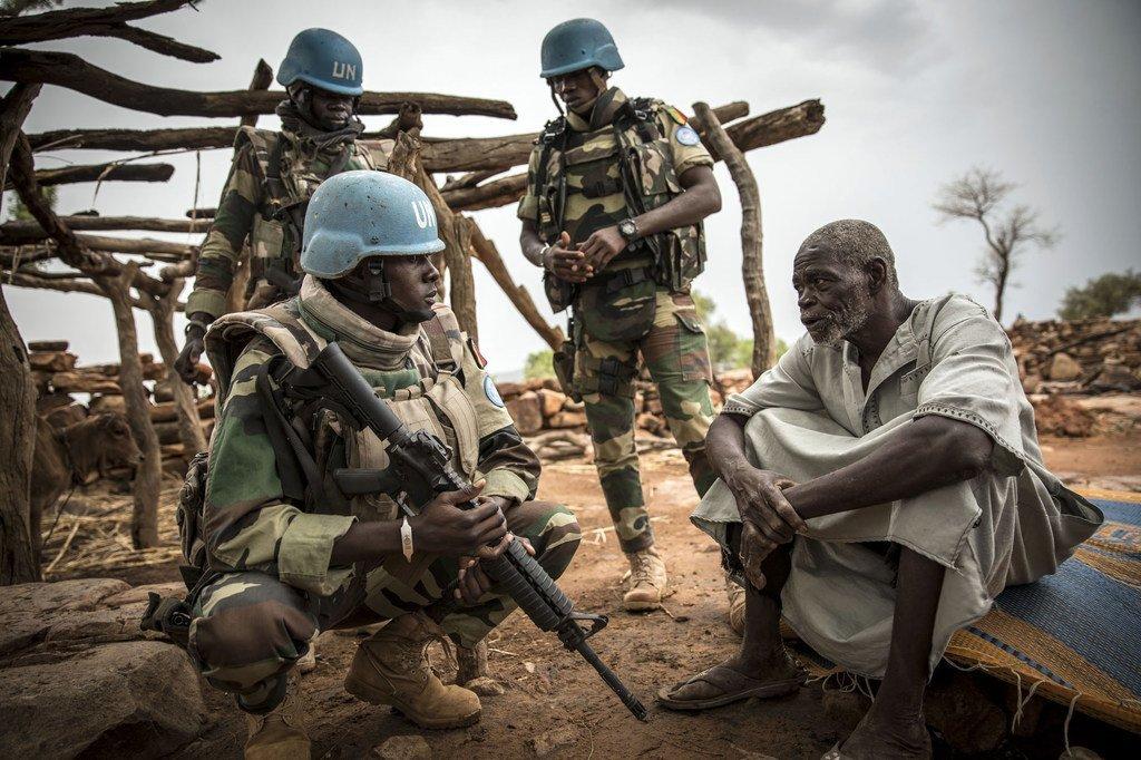 Photo ONU : Opération de maintien de la paix